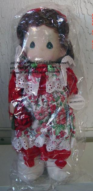 PMC0206 Precious Moments Co. Rosemary Sweetheart Doll 1996