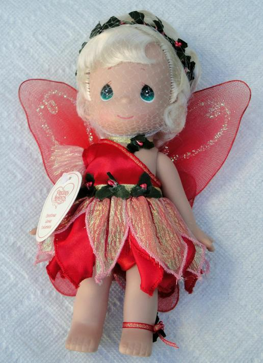 PMC0688E Precious Moments Christmas Wishes Tinkerbelle Doll 2014