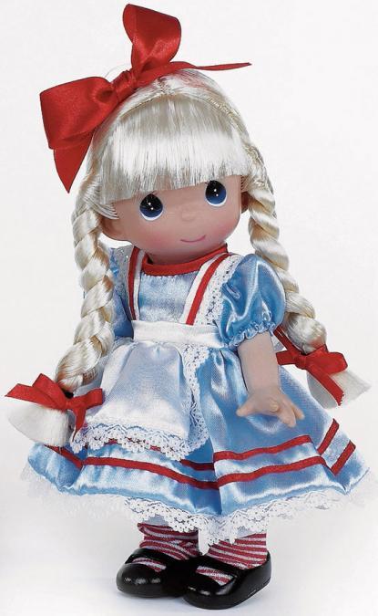 PMC0690B Precious Moments Co. Alice in Wonderland Doll 2013