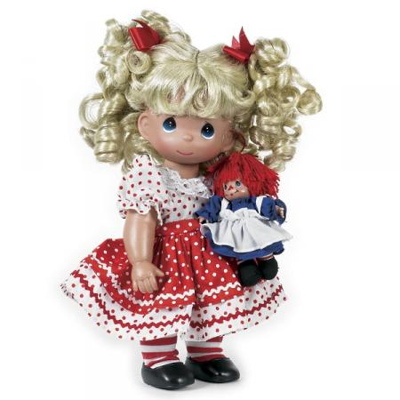 PMC0768 Precious Moments Playtime Raggedy Ann Doll Set 2012
