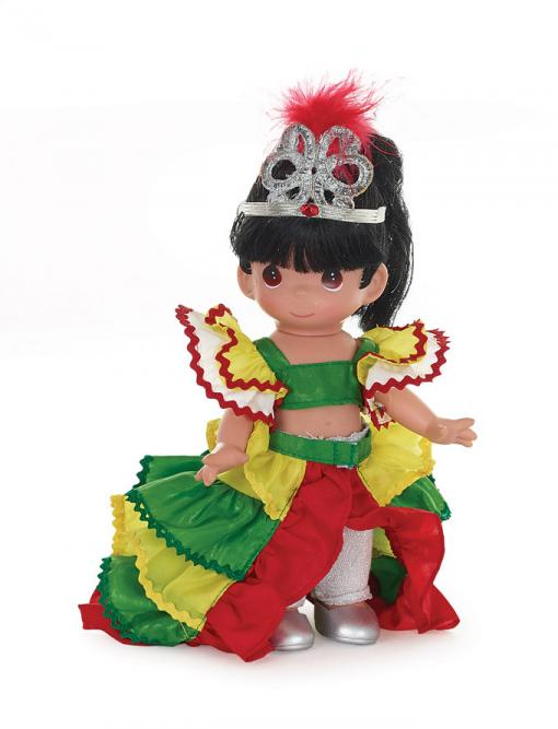 PMC0870 Precious Moments Giovanna of Brazil Doll, 2015
