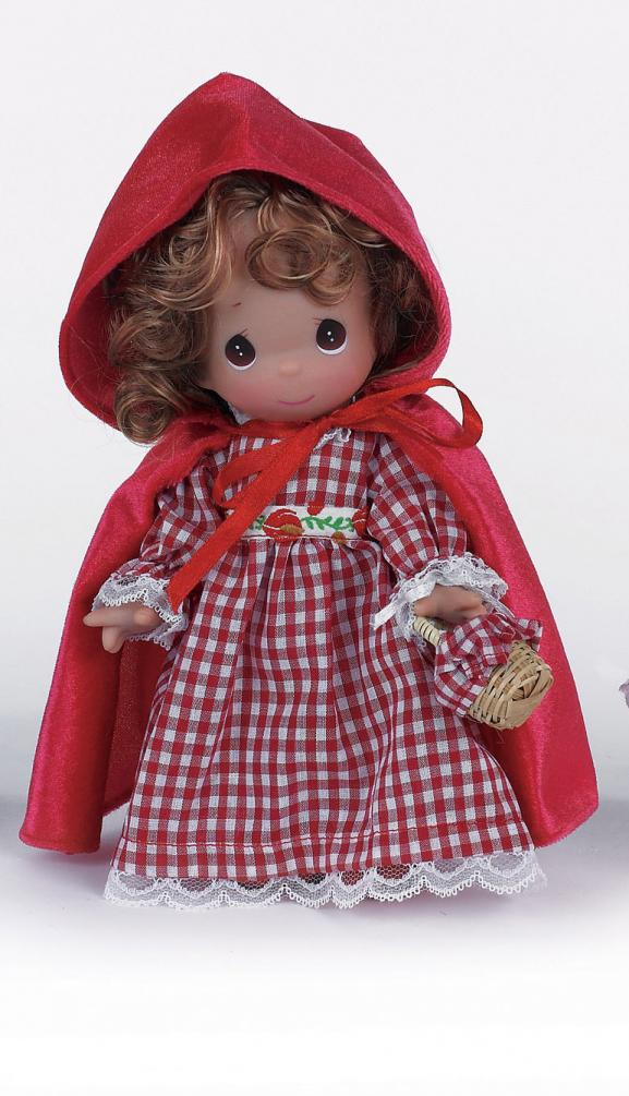PMC0882 Precious Moments 9 In. Red Riding Hood Doll, 2013