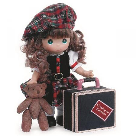 PMC0897 Precious Moments Coming to America - Scotland 12 In. Doll