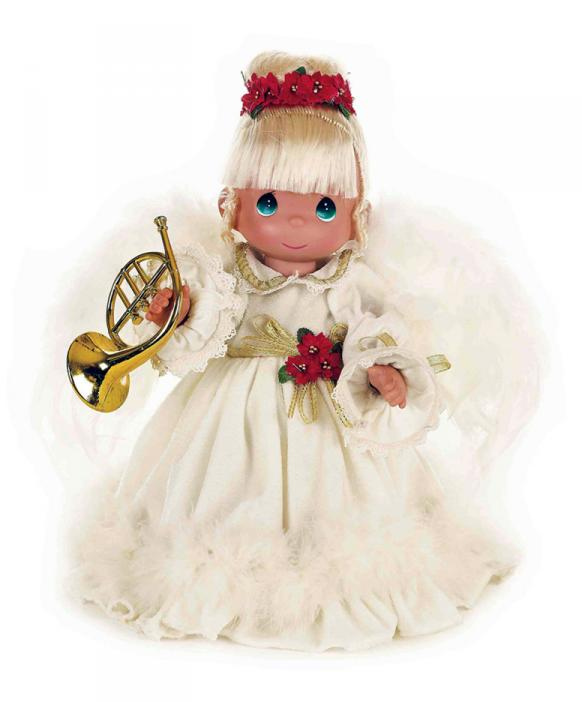 PMC1010 Precious Moments The Sounds of Christmas Angel Doll 2014