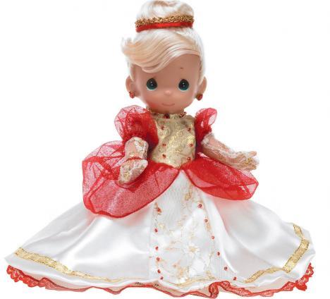 PMC0687D Disney Precious Moments Inc. Enchanted Cinderella Doll 2010