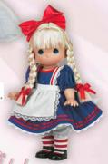 PMC0690 Precious Moments Co. Alice in Wonderland Doll 2009 2