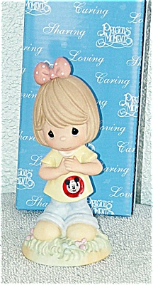 PMD0004A Disney Precious Moments Mousketeer Figurine 2005