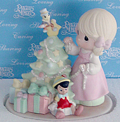 PMD0010A Disney Precious Moments When You Wish Upon A Star Figurine