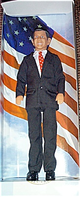 GWB0001B Talking President G. W. Bush Doll, Action Figure 2002
