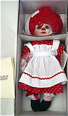 MAO0002 Marie Osmond 1995 Rosie Doll from Raggedy Twins Series