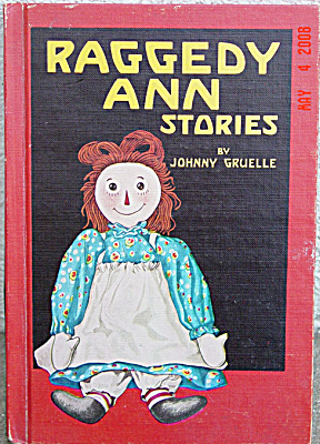 RAG0012 Johnny Gruelle: Raggedy Ann Stories 1961 Ed. Hardcover Book