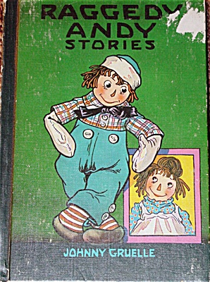 RAG0013A Johnny Gruelle: Raggedy Andy Stories 1960 Ed. Hardcover Book