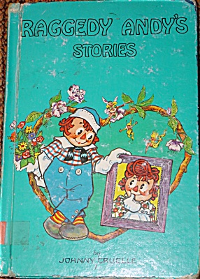 RAG0013B Johnny Gruelle: Raggedy Andy Stories 1975 Ed. Hardcover Book