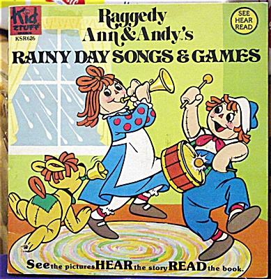 RGB0002 Raggedy Ann and Andy's Rainy Day Songs and Games Set, 1980