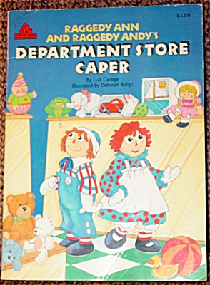 RGR0006 Raggedy Ann and Andy's Department Store Caper, Book