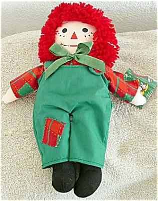 SNR0001 Snowden Raggedy Andy Christmas Doll Dayton Hudson Corp. 1998