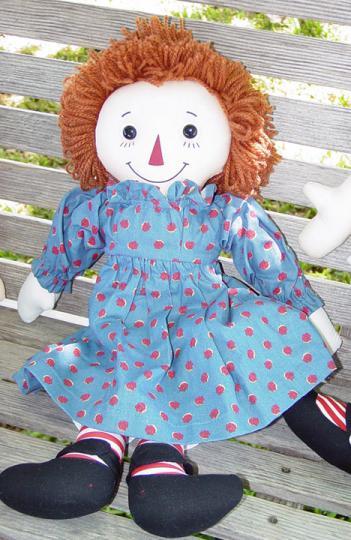 0APR0004 Applause 85th Birthday Collector Raggedy Ann Doll 1999