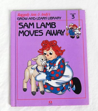 RAG0325C Sam Lamb Moves Away, Raggedy Ann and Andy Book