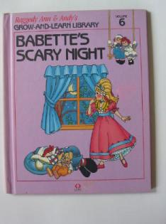 RAG0325F Babette's Scary Night, Raggedy Ann and Andy Book