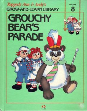 RAG0325H Grouchy Bear's Parade, Raggedy Ann and Andy Book