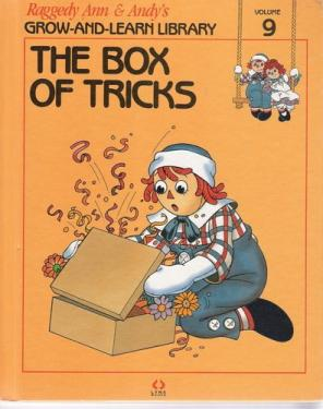 RAG0325I The Box of Tricks, Raggedy Ann and Andy Book, 1988