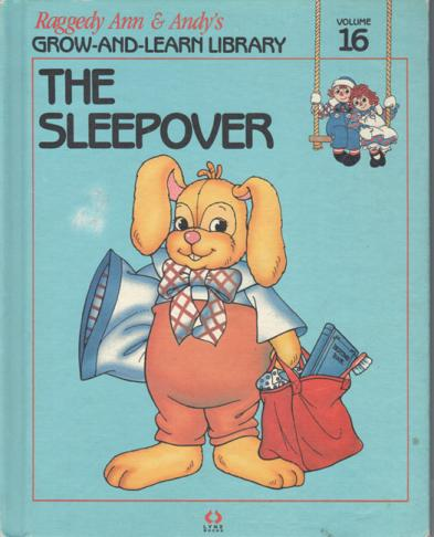 RAG0325P The Sleepover, Raggedy Ann and Andy Book