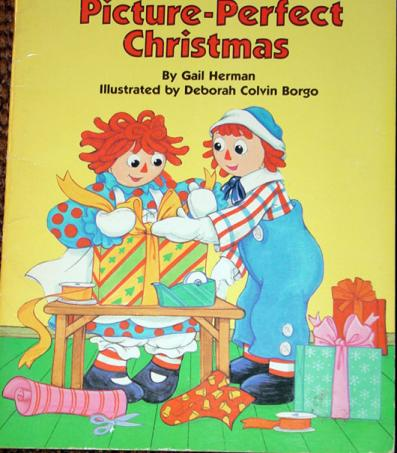 RGR0001 Raggedy Ann's Picture-Perfect Christmas Book