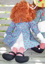 0APR0004 Applause 85th Birthday Collector Raggedy Ann Doll 1999 1