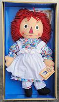 APR0005 1997 Applause Stamp Raggedy Ann Doll, Georgene Repro
