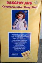 APR0005 1997 Applause Stamp Raggedy Ann Doll, Georgene Repro 1