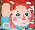 RGR0004 The Raggedy Ann Book Shape Book, Janet Fulton 1969  1