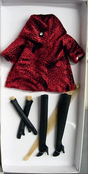 TRV0017 Tonner Velvet 13 In. Revlon Doll Outfit Only, 2010