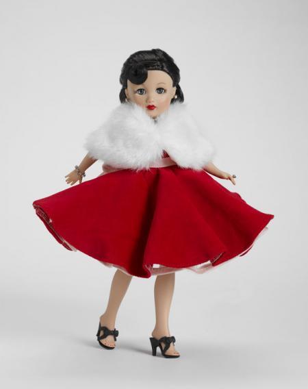 TRV0043 Tonner Queen of Diamonds 10.5 In. Revlon Doll, 2010
