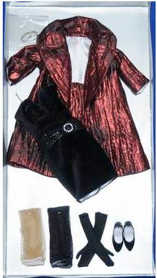 TRV0026 Tonner Velvet Dazzle 13 In. Revlon Doll Outfit Only, 2011