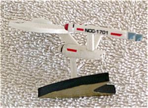STE0041 Star Trek Classic Enterprise Polyvinyl Mini-Figurine