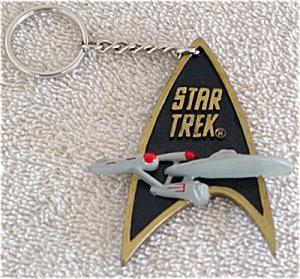1STE0051 Star Trek Communicator Key Holder Enesco 1993-94