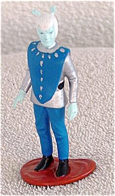 STE0013 Enesco Polyvinyl Andorian Star Trek Alien Mini-Figurine