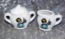 MSC0011 Child's Made-in-Japan China Tea Set 3