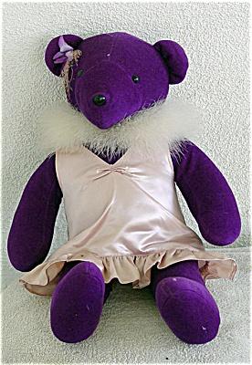 NAB0002 North American Bear Co. Purple Bear c.1979