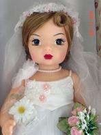 KNI0002 Knickerbocker Terri Lee Millenium Bride Doll 2000, New 2
