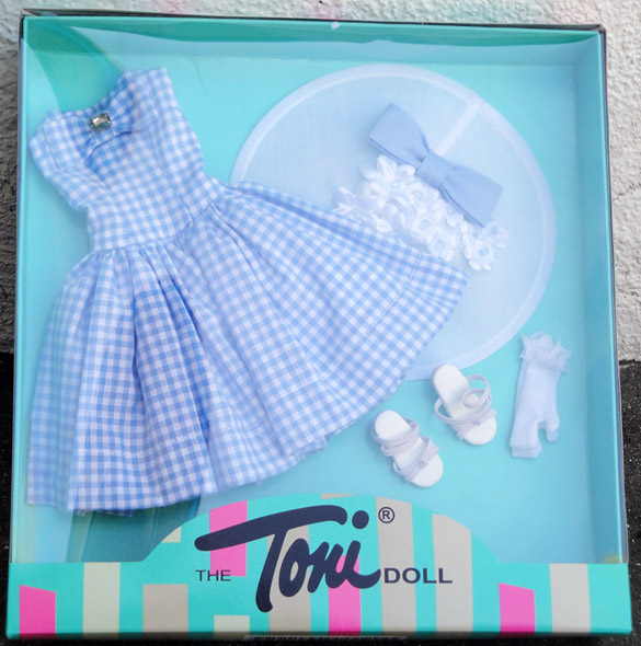 FBT0206 Effanbee Tea Time Fashion Toni Doll Outfit Only 2007 Tonner