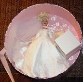 KCT0005B Tonner Forever Yours Blonde Tiny Kitty Doll Hat Box Set 2004