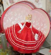 KCT0015 Tonner Tiny Kitty Collier Valentine Hearts Hat Box Set 2005