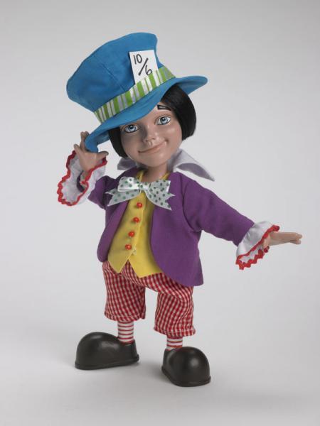 TAW0044 Alice in Wonderland Resin Mad Hatter Doll Tonner 2007
