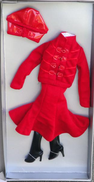 TCJ0045 Tonner Dynamic Red Outfit Only for Cami and Jon Dolls