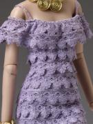 TCJ0064 Tonner Purple Haze Outfit Only for Cami Dolls, 2013 2