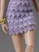 TCJ0064 Tonner Purple Haze Outfit Only for Cami Dolls, 2013 3