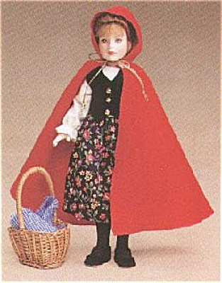 TON0042 Tonner 8 Inch Bisque Red Riding Hood Doll 1998