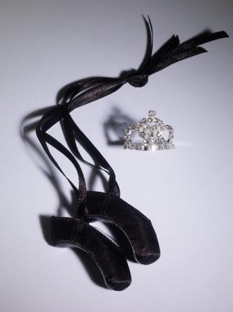 TNM0065 Tonner Nu Mood Finishing Touch Ballet - Black Shoe Set 2012
