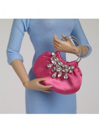 TNM0083 Tonner Nu Mood Pink Fashion Doll Purse 2012